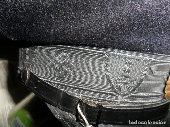 Militaria: gorra militar alemana 1944cuerpo de reservistas - Foto 2 - 133223194