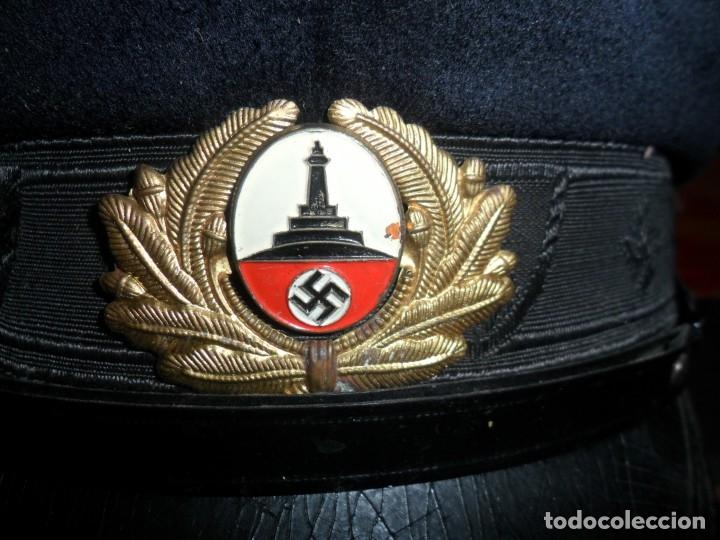 Militaria: gorra militar alemana 1944cuerpo de reservistas - Foto 3 - 133223194