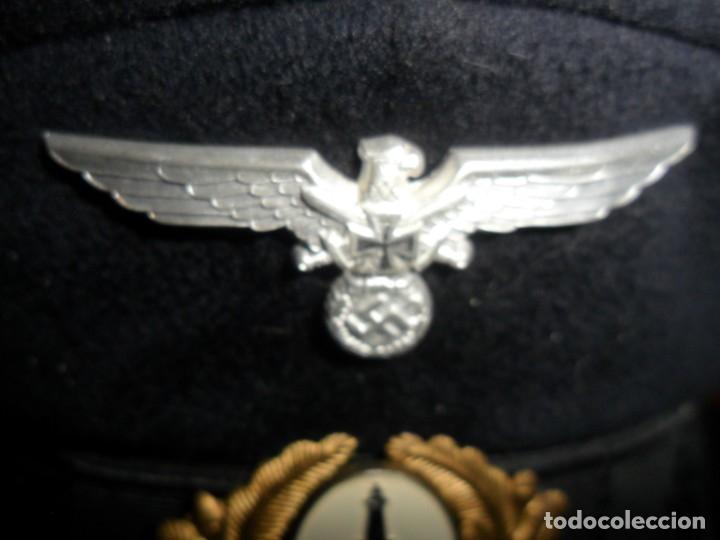 Militaria: gorra militar alemana 1944cuerpo de reservistas - Foto 4 - 133223194