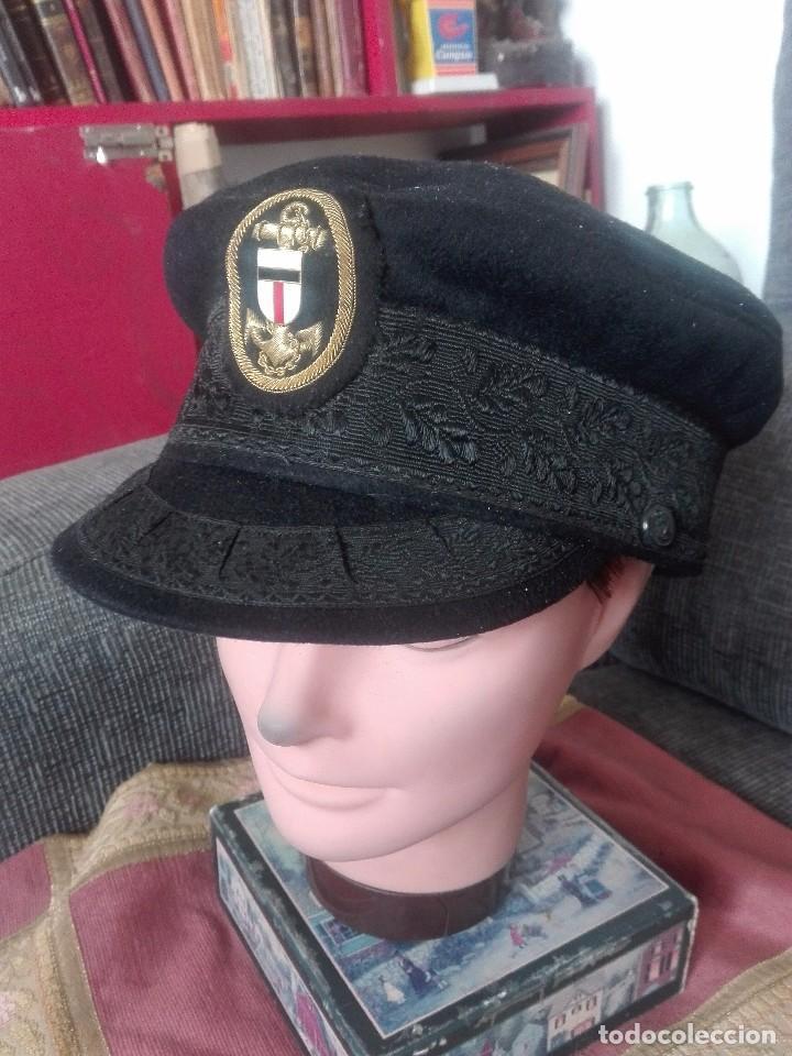 GORRA OFICIAL DE ARMADA.ALEMANIA.AÑOS 40 (Militar - Boinas y Gorras )