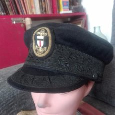 Militaria: GORRA OFICIAL DE ARMADA.ALEMANIA.AÑOS 40. Lote 133389870