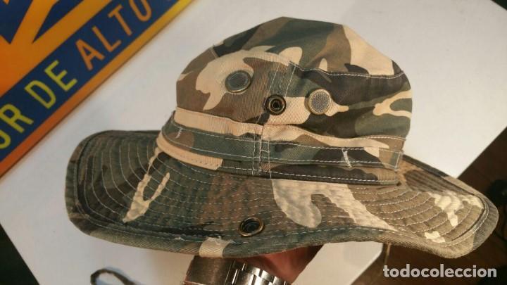 Militaria: SOMBRERO DE CAMUFLAJE MARCA SAFARI-SUB TALLA PEQUEÑA 56 100% ALGODON - Foto 2 - 133646370
