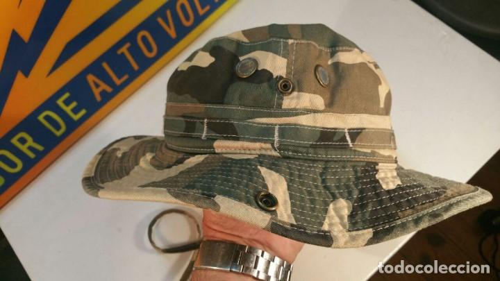 Militaria: SOMBRERO DE CAMUFLAJE MARCA SAFARI-SUB TALLA PEQUEÑA 56 100% ALGODON - Foto 3 - 133646370