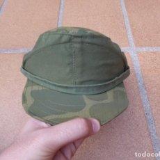 Militaria: GORRILLA DE FAENA BRIGADA PARACAIDISTA. CAZAPATOS BRIPAC. Lote 134041278
