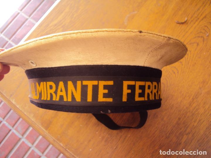LEPANTO ARMADA ALMIRANTE FERRANDIZ (Militar - Boinas y Gorras )