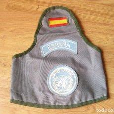 Militaria: BRAZALETE DEL EJÉRCITO ESPAÑOL DE LA ONU - KFOR - CASTILLEJOS - MISIÓN DE 2004. Lote 134121726
