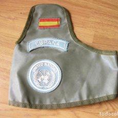 Militaria: BRAZALETE DEL EJÉRCITO ESPAÑOL DE LA ONU - KFOR - CASTILLEJOS - MISIÓN DE 2004. Lote 134121842