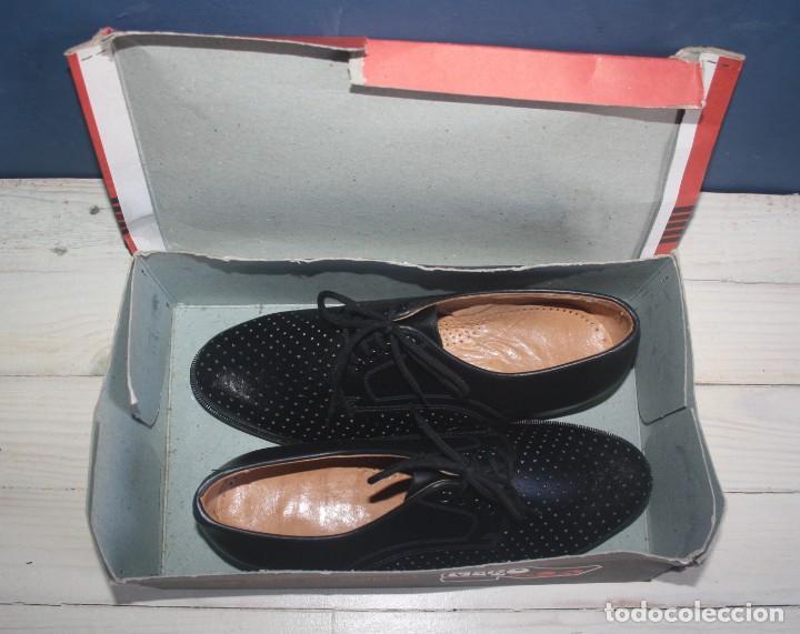 Militaria: Zapatos Vintage de Hombre - Caballero - Marzo -Talla 39 - lote 6 - Correos - Foto 3 - 134562406