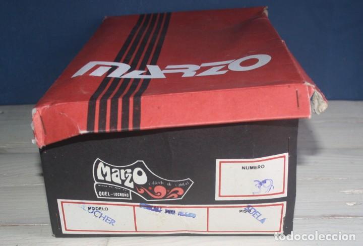 Militaria: Zapatos Vintage de Hombre - Caballero - Marzo -Talla 39 - lote 6 - Correos - Foto 4 - 134562406