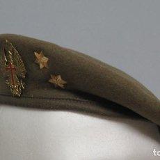 Militaria: BOINA EJERCITO ESPAÑOLA DE TIERRA. TALLA 58. Lote 134854710