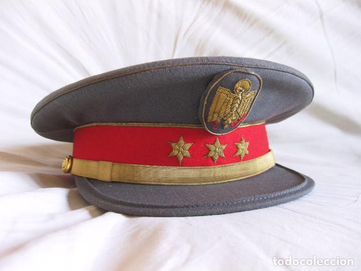 GORRA DE PLATO DE CAPITÁN DE LA POLICÍA ARMADA - TALLA 56 APROXIMADAMENTE (Militar - Boinas y Gorras )