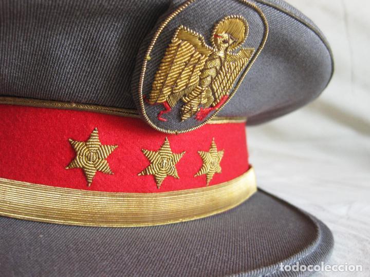 Militaria: GORRA DE PLATO DE CAPITÁN DE LA POLICÍA ARMADA - TALLA 56 APROXIMADAMENTE - Foto 4 - 135224406