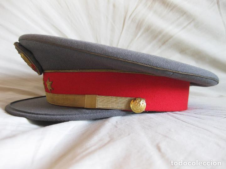 Militaria: GORRA DE PLATO DE CAPITÁN DE LA POLICÍA ARMADA - TALLA 56 APROXIMADAMENTE - Foto 5 - 135224406