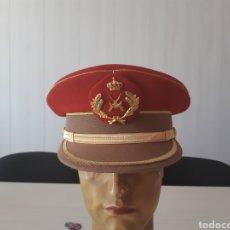 Militaria: GORRA DE PLATO DE REGULARES DE OFICIAL. Lote 135325133