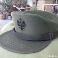 Militaria: GORRA DE FAENA VERDE. EJERCITO ESPAÑOL. TALLA 54. Lote 135592834