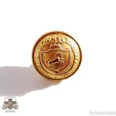 Militaria: BOTÓN REAL MAESTRANZA DE RONDA - ALFONSO XIII - 1,5 CM DE DIÁMETRO. Lote 135666463