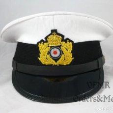 Militaria: GORRA DE COMANDANTE DE SUBMARINO DE LA MARINA IMPERIAL ALEMANA (I GUERRA MUNDIAL). Lote 136205254