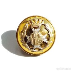 Militaria: BOTÓN MILITAR ALFONSO XIII 2 CM. Lote 136218862