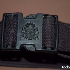 Militaria: CINTURON POLICIA NACIONAL-09 + DE REGALO GRILLETERA DE LONA. Lote 136318854