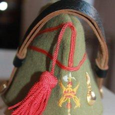 Militaria: CHAPIRI LEGIONARIO, T-56. ZARAGOZA. ESCUDO BORDADO, LEGIÓN ESPAÑOLA. Lote 137234554