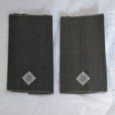 Militaria: HOMBRERAS MANGUITOS DE OFICIAL, EJÉRCITO ALEMÁN.. Lote 137766838