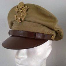 Militaria: FUNDA KAKHI PARA GORRA DE OFICIAL US ARMY-USAAF. II GUERRA MUNDIAL. Lote 151655772