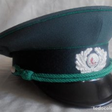 Militaria: GORRA DE PLATO DE LA REPUBLICA DEMOCRATICA ALEMANA, GORRA MILITAR ,RDA. Lote 138061782