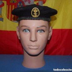 Militaria: BOINA DE LA ARMADA ESPAÑOLA MARINERIA/MARINA ESPAÑOLA/03. Lote 138705002