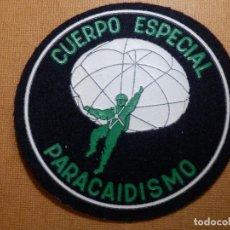 Militaria: PARCHE - GALLETA - CUERPO ESPECIAL DE PARACAIDISMO -. Lote 138881374