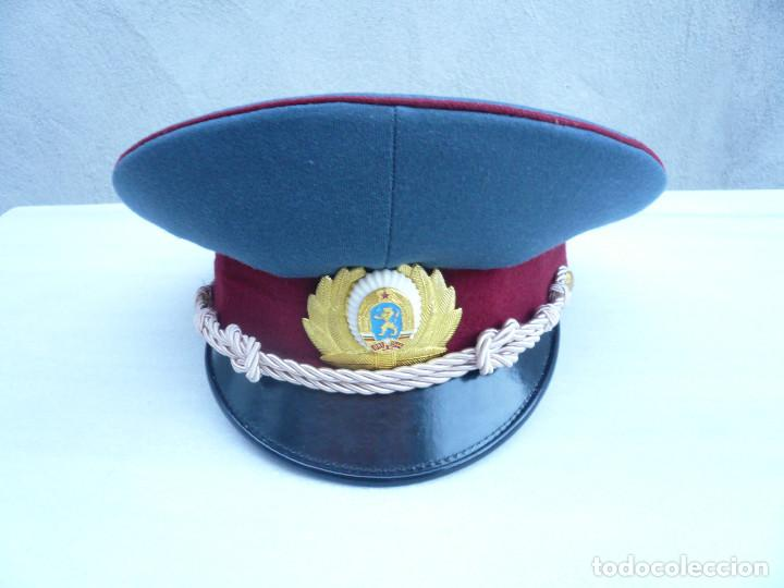 Militaria: GORRA ERA COMUNISTA BULGARIA. LOTE DE 5: FERROCARRILES, MARINA, TIERRA, POLICIA Y BOMBEROS - Foto 6 - 138909666