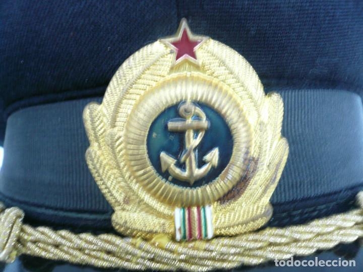 Militaria: GORRA ERA COMUNISTA BULGARIA. LOTE DE 5: FERROCARRILES, MARINA, TIERRA, POLICIA Y BOMBEROS - Foto 13 - 138909666