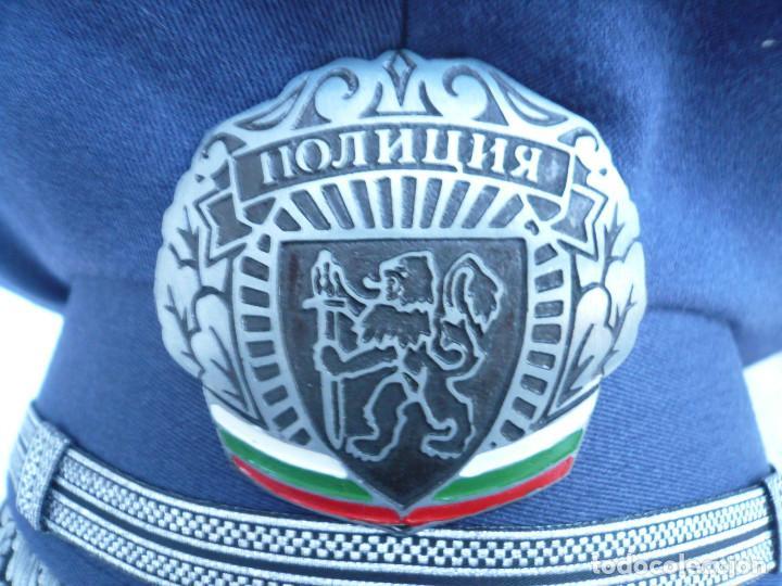 Militaria: GORRA ERA COMUNISTA BULGARIA. LOTE DE 5: FERROCARRILES, MARINA, TIERRA, POLICIA Y BOMBEROS - Foto 15 - 138909666