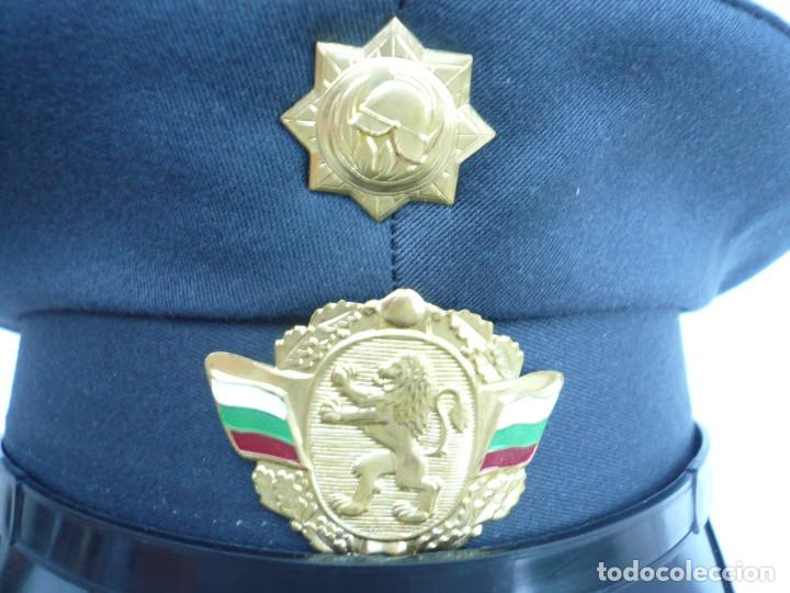 Militaria: GORRA ERA COMUNISTA BULGARIA. LOTE DE 5: FERROCARRILES, MARINA, TIERRA, POLICIA Y BOMBEROS - Foto 16 - 138909666