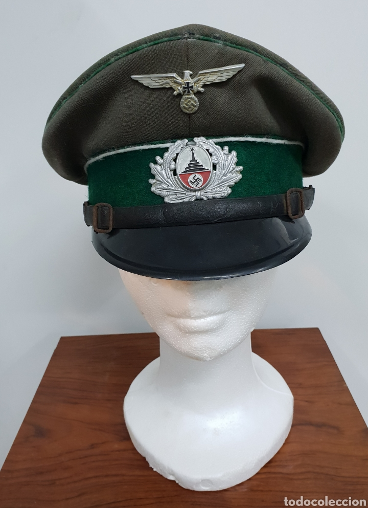 GORRA ALEMANA II GUERRA MUNDIAL (Militar - Boinas y Gorras )