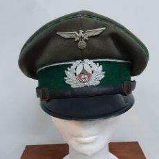Militaria - Gorra alemana II Guerra mundial - 139223084