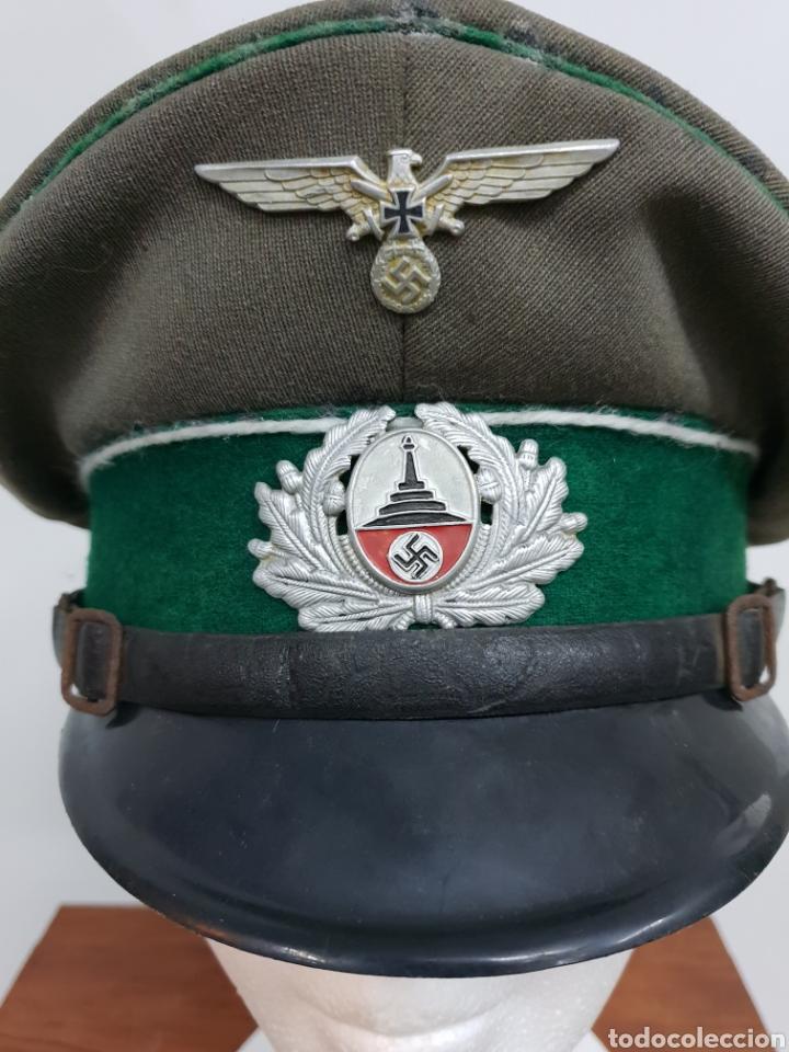 Militaria: Gorra alemana II Guerra mundial - Foto 2 - 139223084