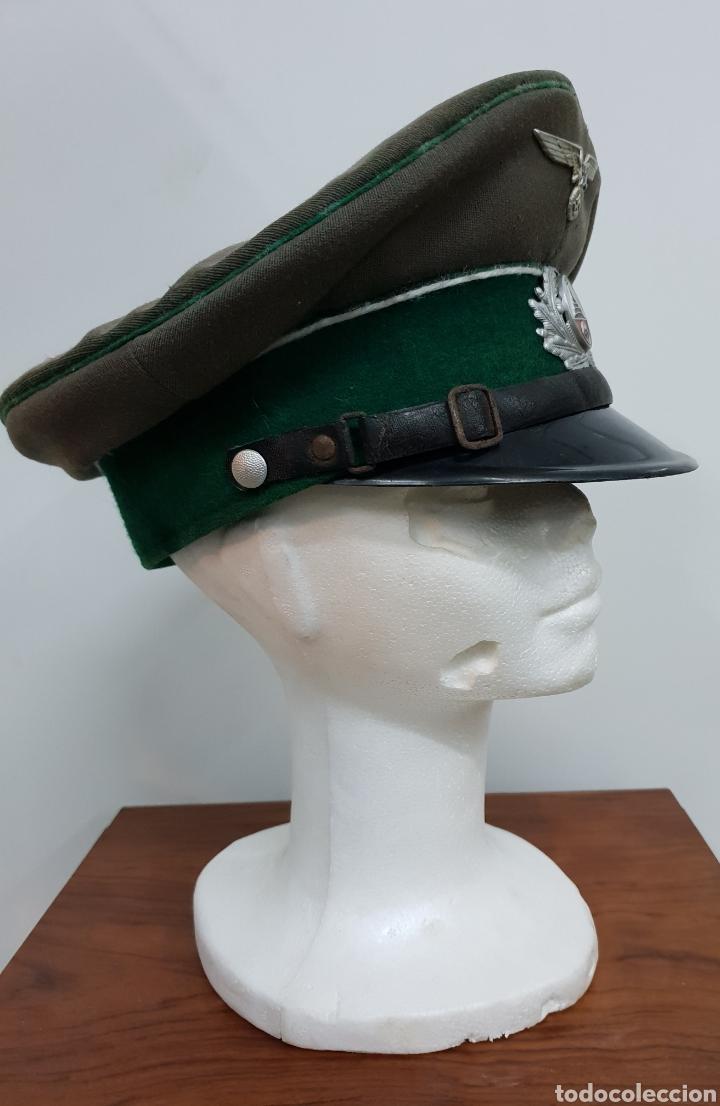Militaria: Gorra alemana II Guerra mundial - Foto 5 - 139223084
