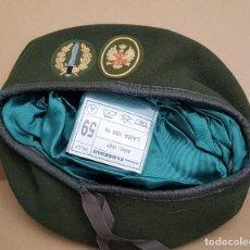 Militaria: BOINA VERDE BOEL COMPAÑÍA OPERACIONES ESPECIALES LEGIÓN . Lote 139385126