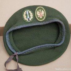 Militaria: BOINA VERDE BOEL COMPAÑÍA OPERACIONES ESPECIALES LEGIÓN . Lote 139385402