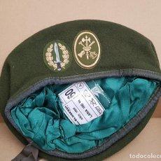 Militaria: BOINA VERDE BOEL COMPAÑÍA OPERACIONES ESPECIALES LEGIÓN . Lote 139385534