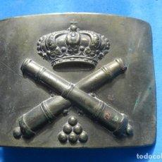 Militaria: HEBILLA DE ARTILLERÍA. ÉPOCA DE ALFONSO XIII.. Lote 139467350