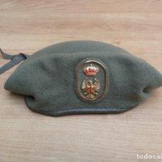 Militaria: BOINA EJÉRCITO DE TIERRA ESPAÑOL AÑO 1991 TALLA 55. Lote 139717462