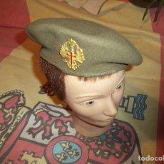 Militaria: BOINA EJERCITO DE TIERRA AÑOS 70-80 TALLA 56. Lote 139736034