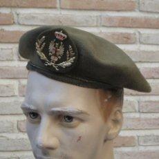 Militaria: BOINA MILITAR OFICIAL DEL EJERCITO ESPAÑOL.. Lote 139897022