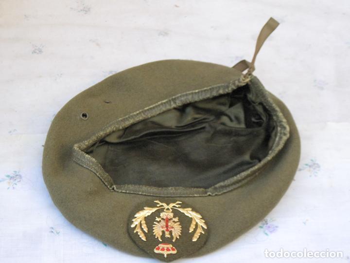 Militaria: BOINA MILITAR OFICIAL DEL EJERCITO ESPAÑOL. - Foto 2 - 139897022