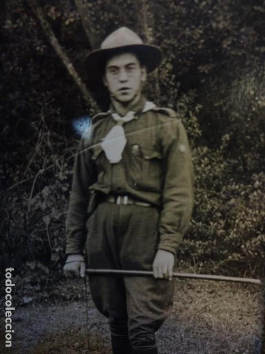 Militaria: BOY-SCOUT. Scoutismo. Lote de antiguo miembro. Fotos y objetos originales - Foto 3 - 139951170