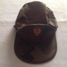 Militaria: GORRA CAMUBLAJE EJÉRCITO ESPAÑOL. Lote 140127246