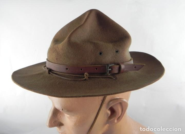 Militaria: Antiguo gorro de explorador Scout. Boy scouts. Scouts de España. Muy buen estado de conservación. Mi - Foto 2 - 140241182