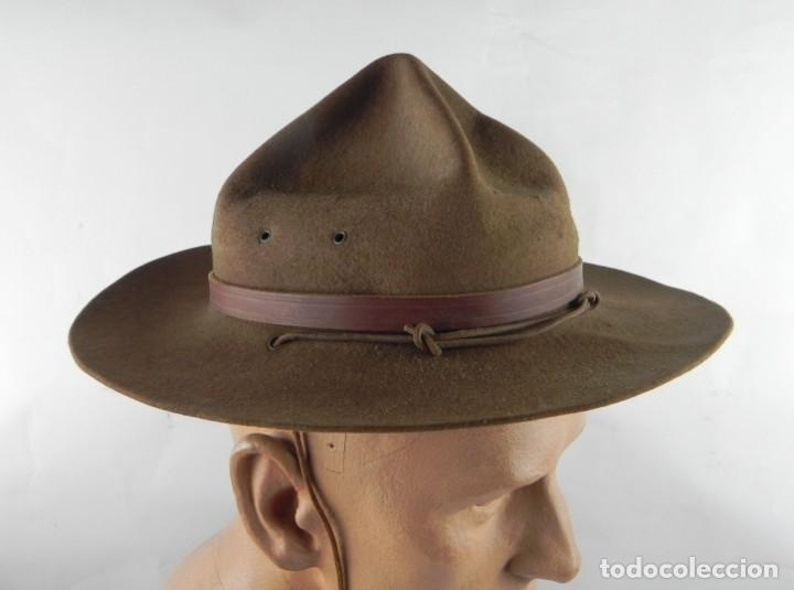 Militaria: Antiguo gorro de explorador Scout. Boy scouts. Scouts de España. Muy buen estado de conservación. Mi - Foto 3 - 140241182