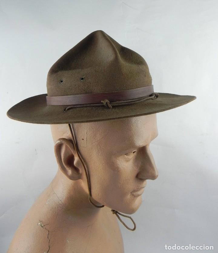 Militaria: Antiguo gorro de explorador Scout. Boy scouts. Scouts de España. Muy buen estado de conservación. Mi - Foto 4 - 140241182